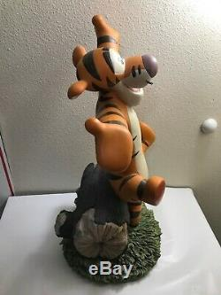 Disney Big Fig Figure Winnie The Tigger Statue Limited 250 Auction RARE
