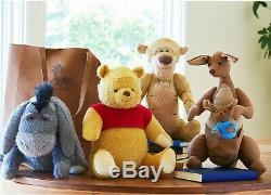 Disney Christopher Robin Movie Winnie Pooh Tigger Eeyor Kanga Roo Plush toy SET