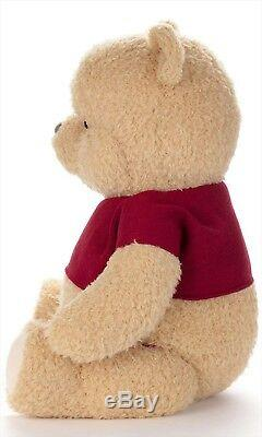 Disney Christopher Robin Real Size Stuffed toy Pooh Winnie the pooh Plush Doll