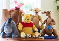 Disney Christopher Robin Set Winnie The Pooh Piglet Eeyore Tigger Kanga Plush