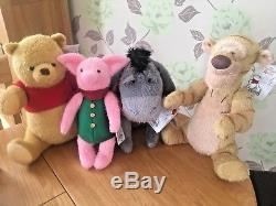 Disney Christopher Robin Winnie The Pooh Plush Limited Release Soft Toys Bnwts