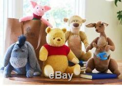 Disney Christopher Robin plush set Winnie the Pooh Eeyore Tigger Kanga Piglet US