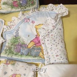 Disney Classic Calliope Winnie the Pooh Bedding Crib Set Nursery 7 Pieces 1995