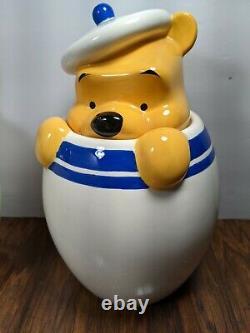 Disney Direct Winnie The Pooh Piglet Tigger Eeyore Peek Cookie Jar Canister Set