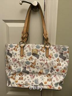 Disney Dooney And Bourke Winnie The Pooh Tote Bag