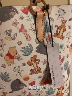 Disney Dooney & Bourke Winnie The Pooh And Pals Tote Bag Purse NWT