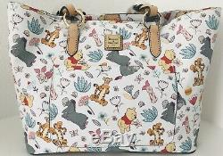 Disney Dooney & Bourke Winnie The Pooh And Pals Tote-EXCELLENT PLACEMENT (NWT)