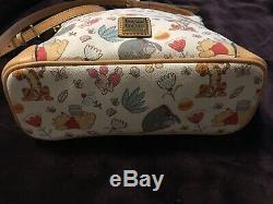 Disney Dooney & Bourke Winnie The Pooh Crossbody Letter Carrier Bag New