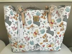 Disney Dooney & Bourke Winnie The Pooh Exclusive Large Tote Purse Limited NWT