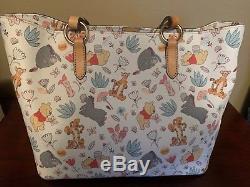 Disney Dooney & Bourke Winnie The Pooh Tote Bag Purse EUC