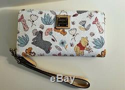Disney Dooney & Bourke Winnie The Pooh Wallet Wrislet Tigger Eeyore