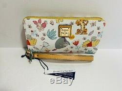 Disney Dooney & Bourke Winnie The Pooh Wallet Wristlet NEW