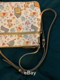 Disney Dooney & Bourke Winnie the Pooh Crossbody Letter Carrier Bag Purse