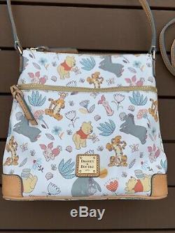 Disney Dooney & Bourke Winnie the Pooh Crossbody Letter Carrier Bag Purse Eeyore