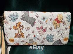 Disney Dooney Bourke Winnie the Pooh & Pals Wallet NEW NWT