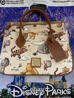 Disney Dooney & Bourke Winnie the Pooh Satchel Crossbody Purse Handbag NWT Exact