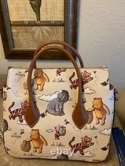 Disney Dooney & Bourke Winnie the Pooh Satchel New With Tags