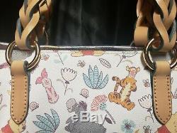 Disney Dooney & Bourke Winnie the Pooh Tammy Tote & Wallet EUC