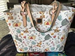 Disney Dooney & Bourke Winnie the Pooh Tote Bag Purse BNWIT