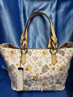 Disney Dooney Bourke Winnie the Pooh Tote NEW NWT