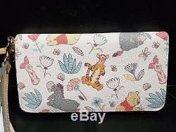 Disney Dooney Bourke Winnie the Pooh Wallet NWT Eeyore Tigger Piglet