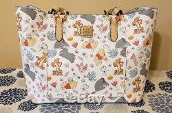 Disney Dooney and Bourke Winnie the Pooh Tote Feat. Tigger, Piglet & Eeyore