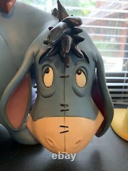 Disney Eeyore Big Fig Figure Staue Rare Item