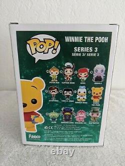 Disney Funko Pop Winnie The Pooh Flocked 1/480 SDCC 2012 Exclusive RARE
