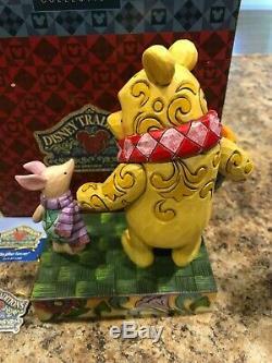 Disney Jim Shore Winnie the Pooh Piglet Together Forever 4016588 NRFB RARE