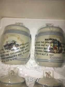 Disney Lenox Poohs Pantry Canister Set 12 Piece Winnie The Pooh