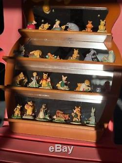 Disney Lenox Winnie The Pooh Thimble Set Of 24