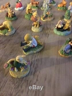 Disney Lenox Winnie The Pooh Thimbles And Mirror Shelf