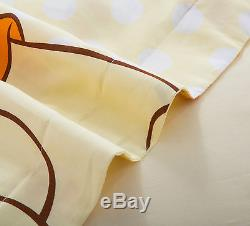 Disney Licensed Winnie The Pooh Twin Full Queen Size 7-piece Comforter In A Bag
