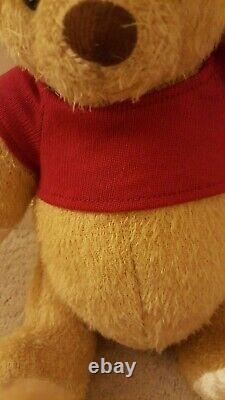 Disney Live Action Christopher Robin Winnie The Pooh Plush BNWT