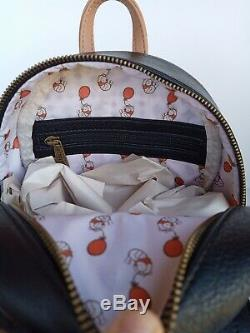 Disney Loungefly Winnie The Pooh Plaid Mini Backpack