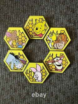Disney Loungefly Winnie the Pooh Complete Pin Set