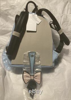Disney Loungefly Winnie the Pooh EEYORE Figural Mini Backpack RARE NWT
