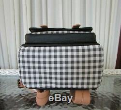 Disney Loungefly Winnie the Pooh Mini Backpack Plaid NWT