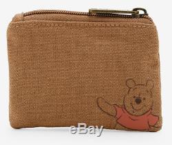 Disney Loungefly Winnie the Pooh Tigger Eeyore Piglet Satchel Crossbody Bag NWT