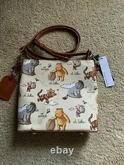 Disney Parks 2020 Classic Winnie The Pooh Crossbody Bag Dooney & Bourke In Stock
