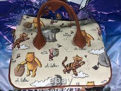 Disney Parks 2020 Winnie The Pooh Crossbody Satchel Bag Dooney & Bourke In Hand