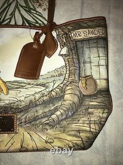 Disney Parks 2020 Winnie The Pooh Tote Bag Dooney & Bourke New In Hand