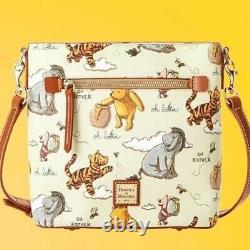 Disney Parks Classic Winnie the Pooh Crossbody Bag by Dooney and Bourke