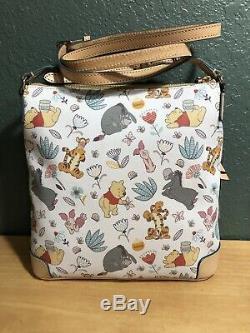 Disney Parks Dooney And Bourke Winnie The Pooh Crossbody New