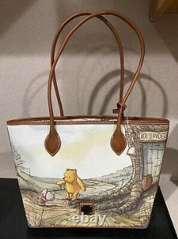 Disney Parks Dooney & Bourke 2020 Winnie The Pooh Tote Purse Bag