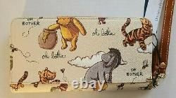 Disney Parks Dooney & Bourke 2020 Winnie The Pooh Wristlet Wallet Eeyore Tigger