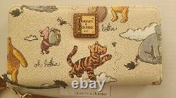 Disney Parks Dooney & Bourke 2020 Winnie The Pooh Wristlet Wallet Tigger Piglet