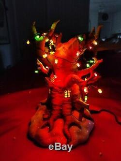 Disney Piglet House Light-Up Christmas Village