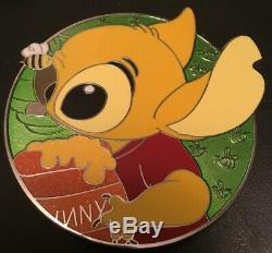 Disney Pin Lilo And Stitch As Winnie the Pooh Heroine Fantasy Profile LE 35