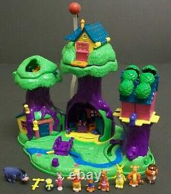 Disney Polly Pocket, Winnie The Pooh, 100 Acre Wood, 100% Complete